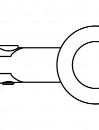Conector pentru sticla - 02-21-22 F