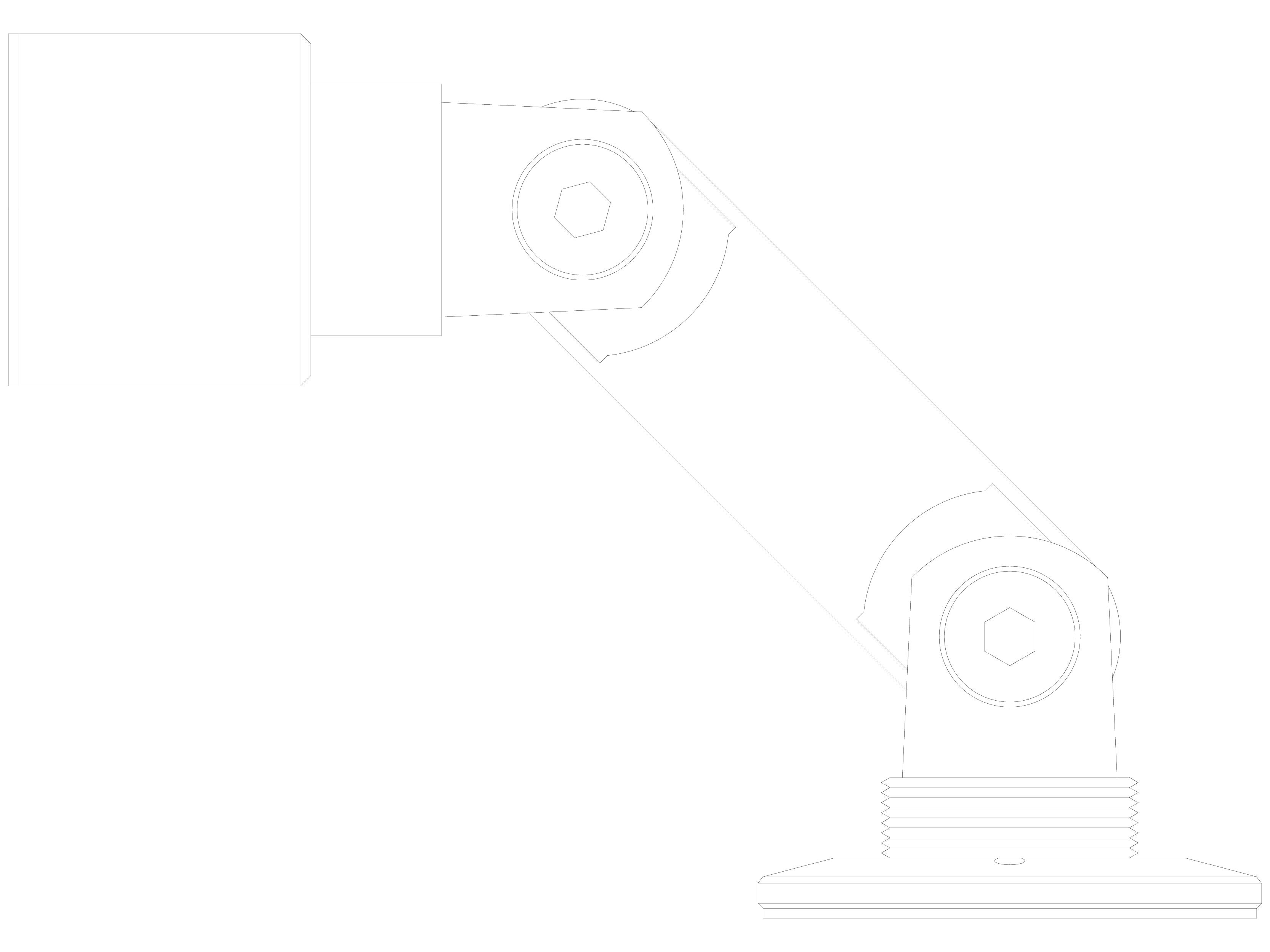 Pagina 1 - CAD-DWG Conector pentru sticla - 02-22-21 D SADEV DECOR Detaliu de produs Conectori