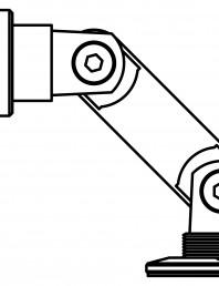 Conector pentru sticla - 02-22-21 D