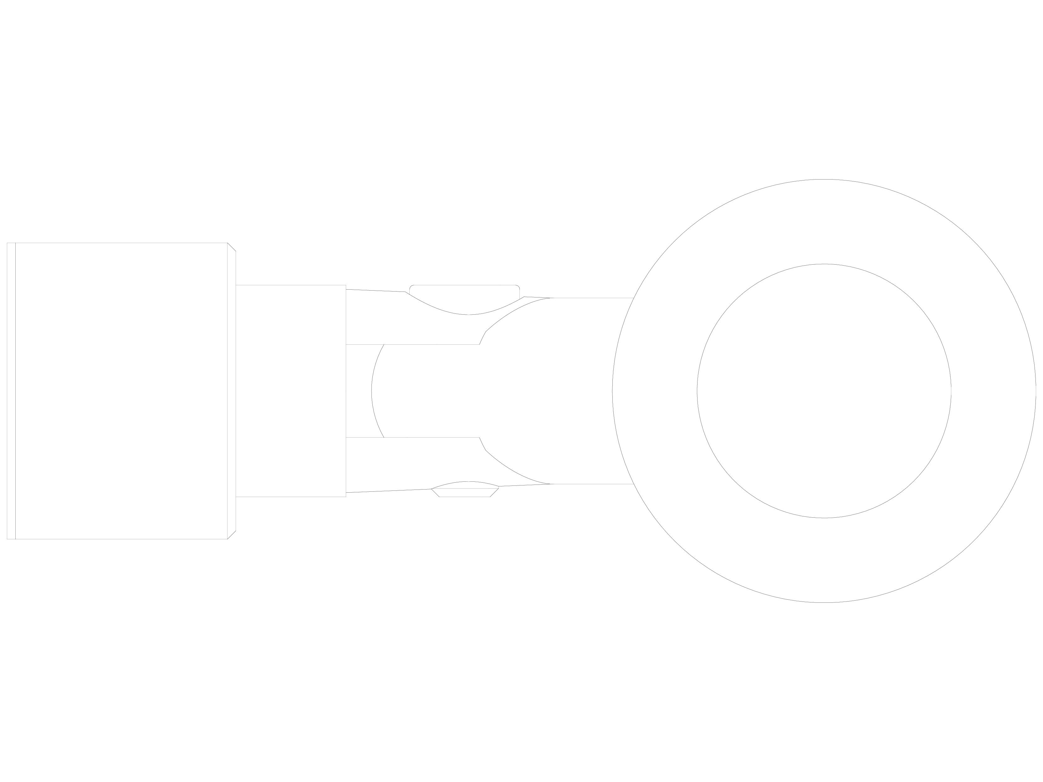 Pagina 1 - CAD-DWG Conector pentru sticla - 02-22-21 F SADEV DECOR Detaliu de produs Conectori