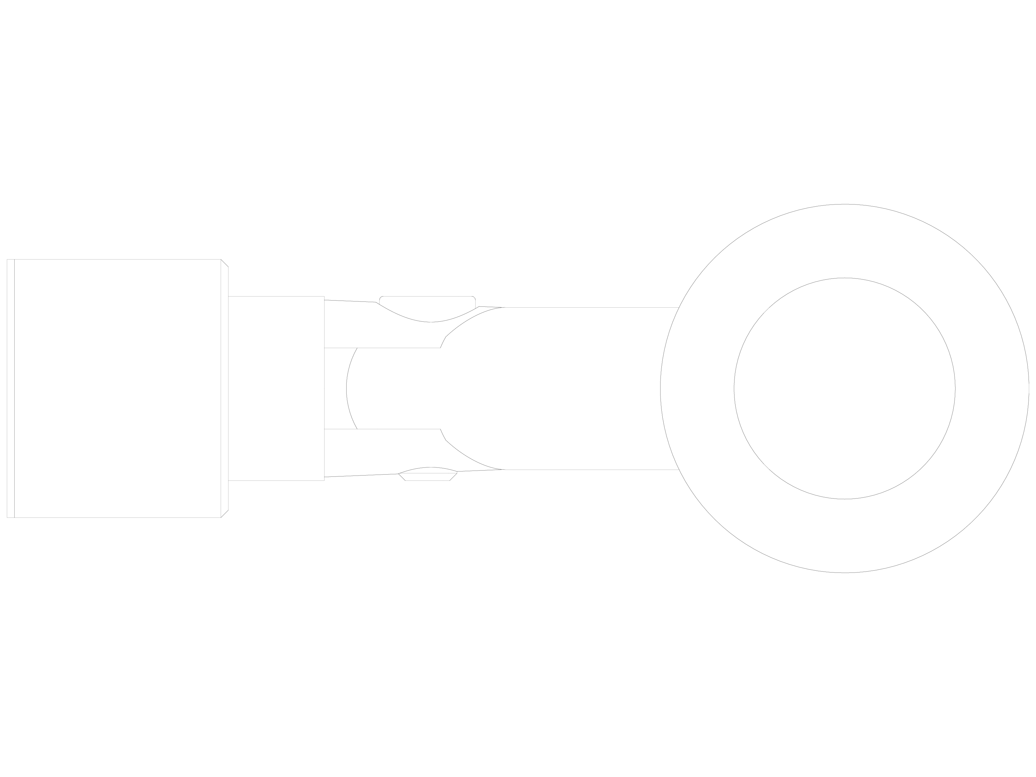 Pagina 1 - CAD-DWG Conector pentru sticla - 02-22-22 F SADEV DECOR Detaliu de produs Conectori