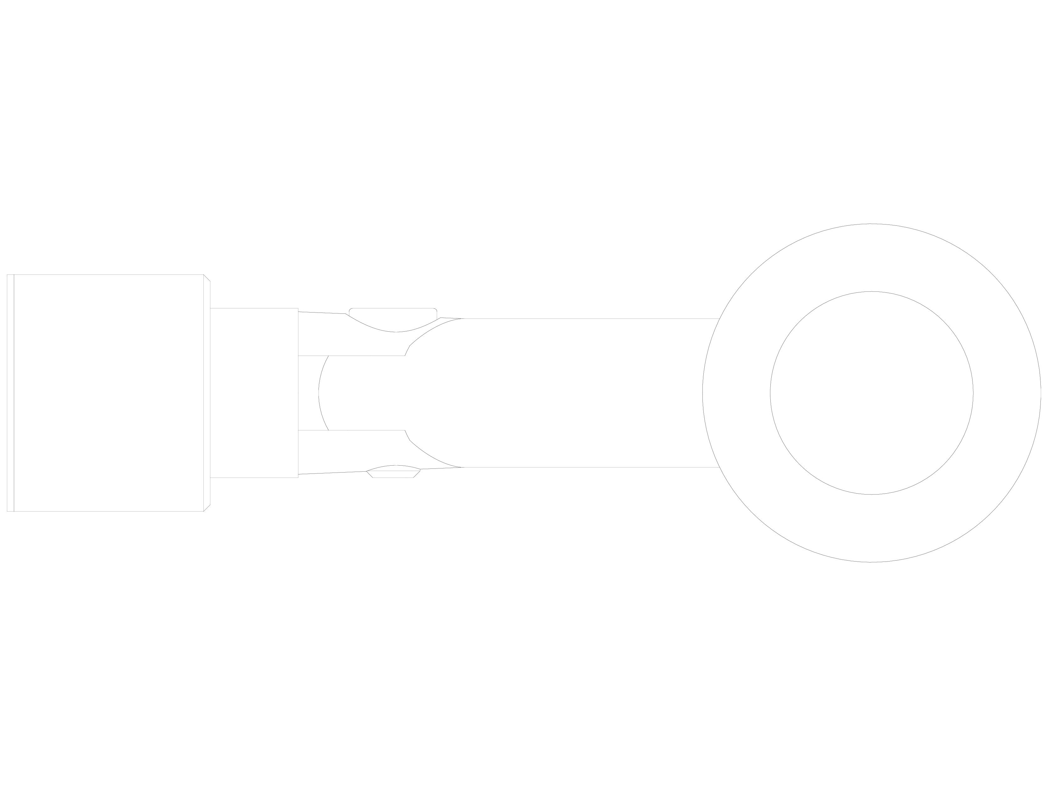 Pagina 1 - CAD-DWG Conector pentru sticla - 02-22-23 F SADEV DECOR Detaliu de produs Conectori