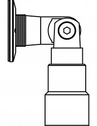 Conector pentru sticla - 02-23-24 C