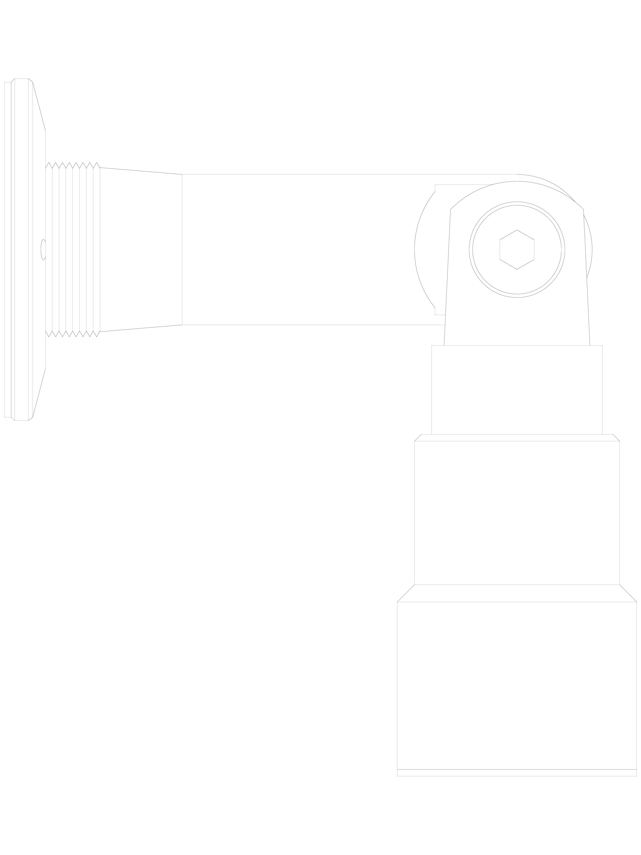 Pagina 1 - CAD-DWG Conector pentru sticla - 02-23-25 C SADEV DECOR Detaliu de produs Conectori