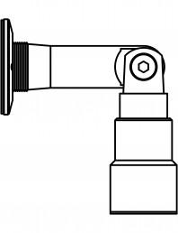 Conector pentru sticla - 02-23-25 C