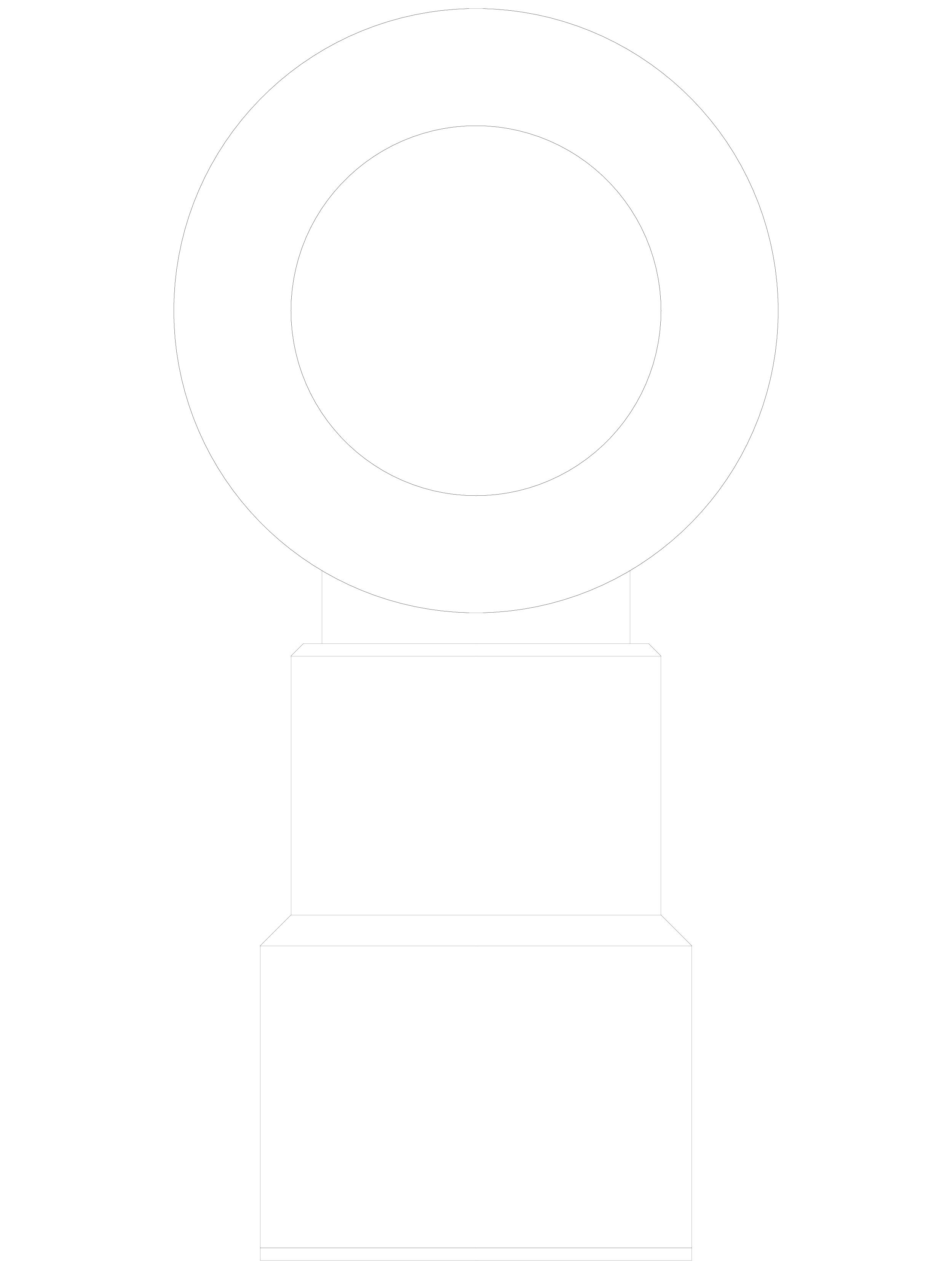 Pagina 1 - CAD-DWG Conector pentru sticla - 02-23-25 F SADEV DECOR Detaliu de produs Conectori
