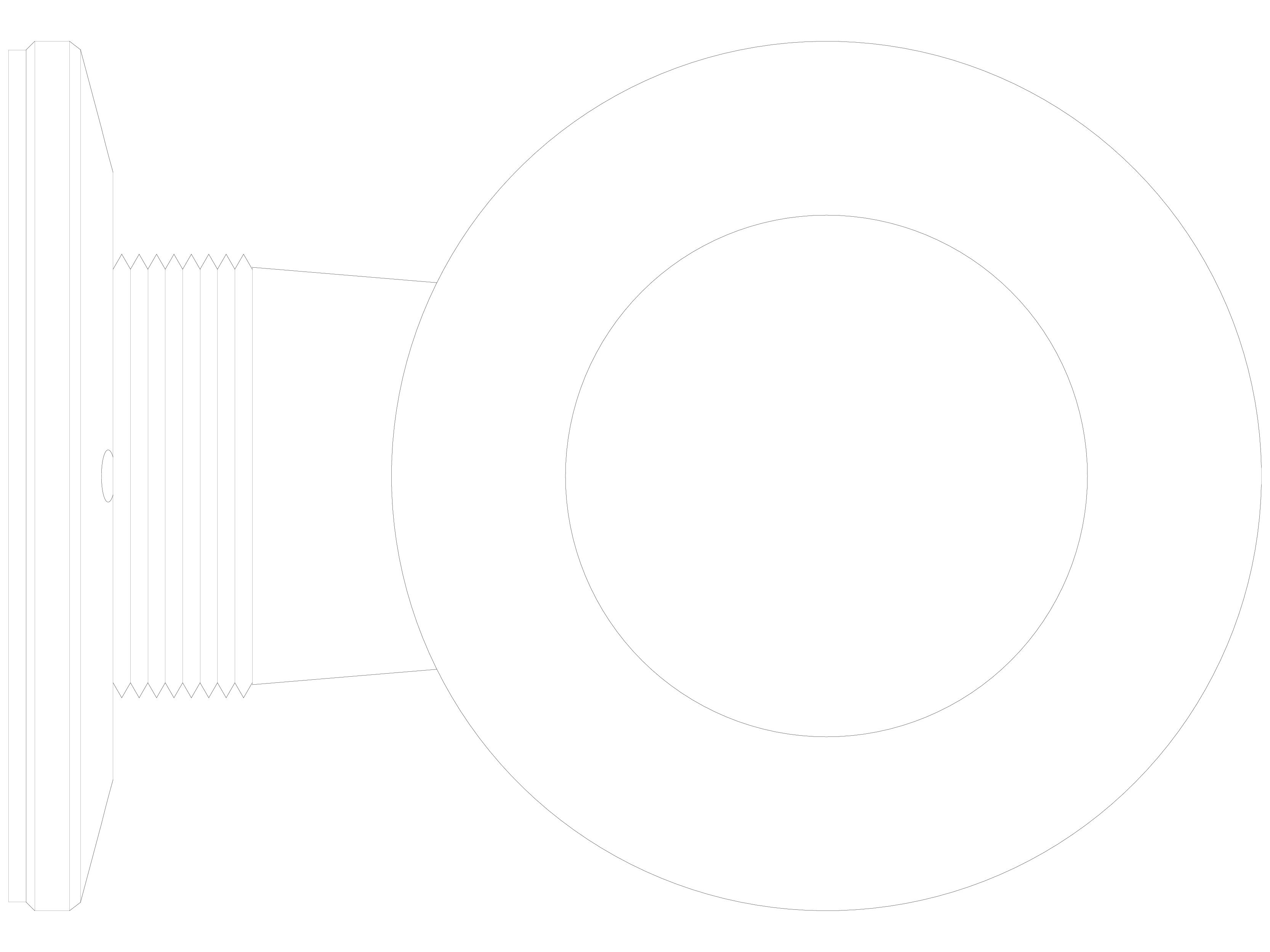 Pagina 1 - CAD-DWG Conector pentru sticla - 02-24-27 F SADEV DECOR Detaliu de produs Conectori