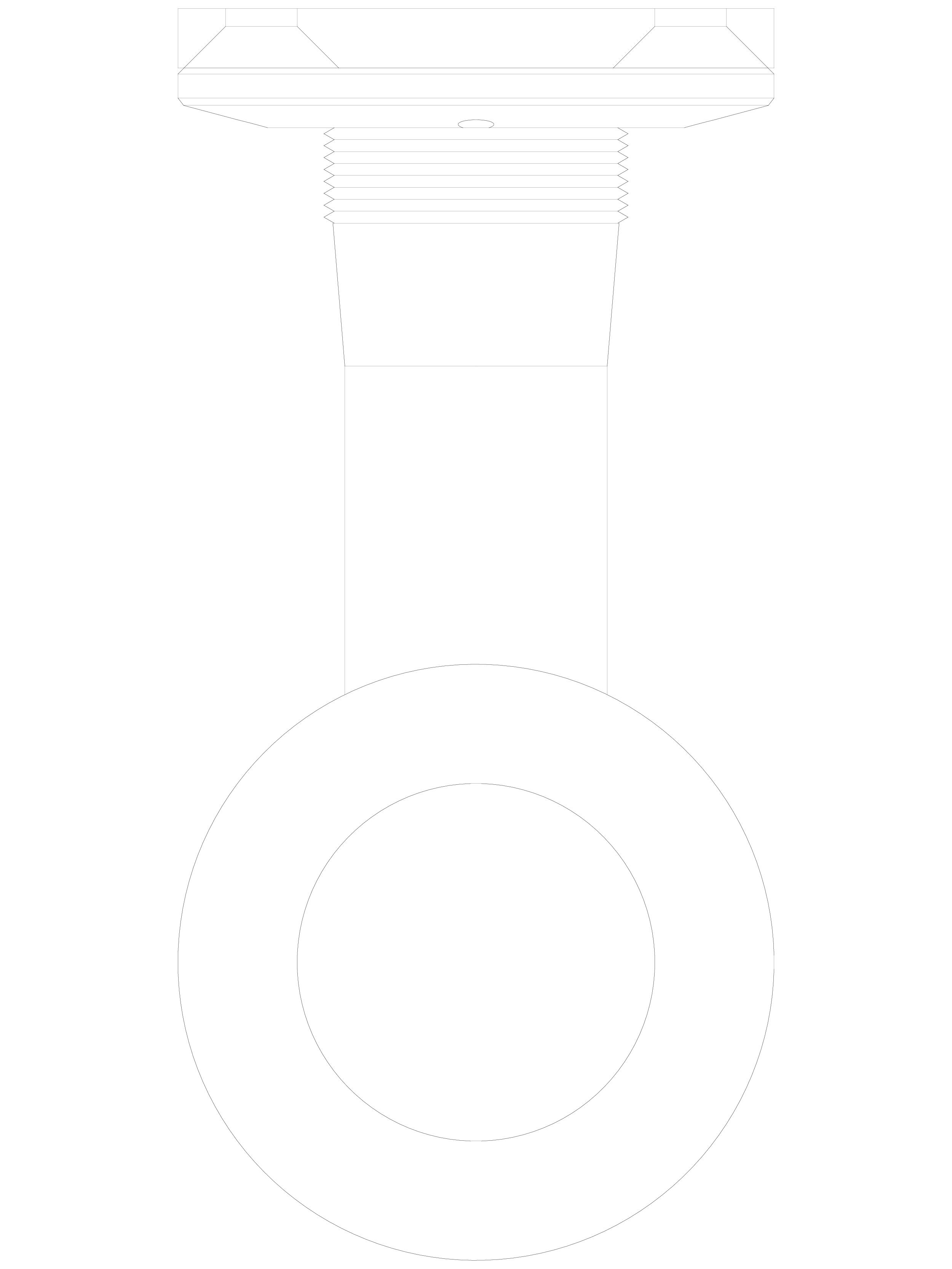Pagina 1 - CAD-DWG Conector pentru sticla - 02-24-28 F SADEV DECOR Detaliu de produs Conectori