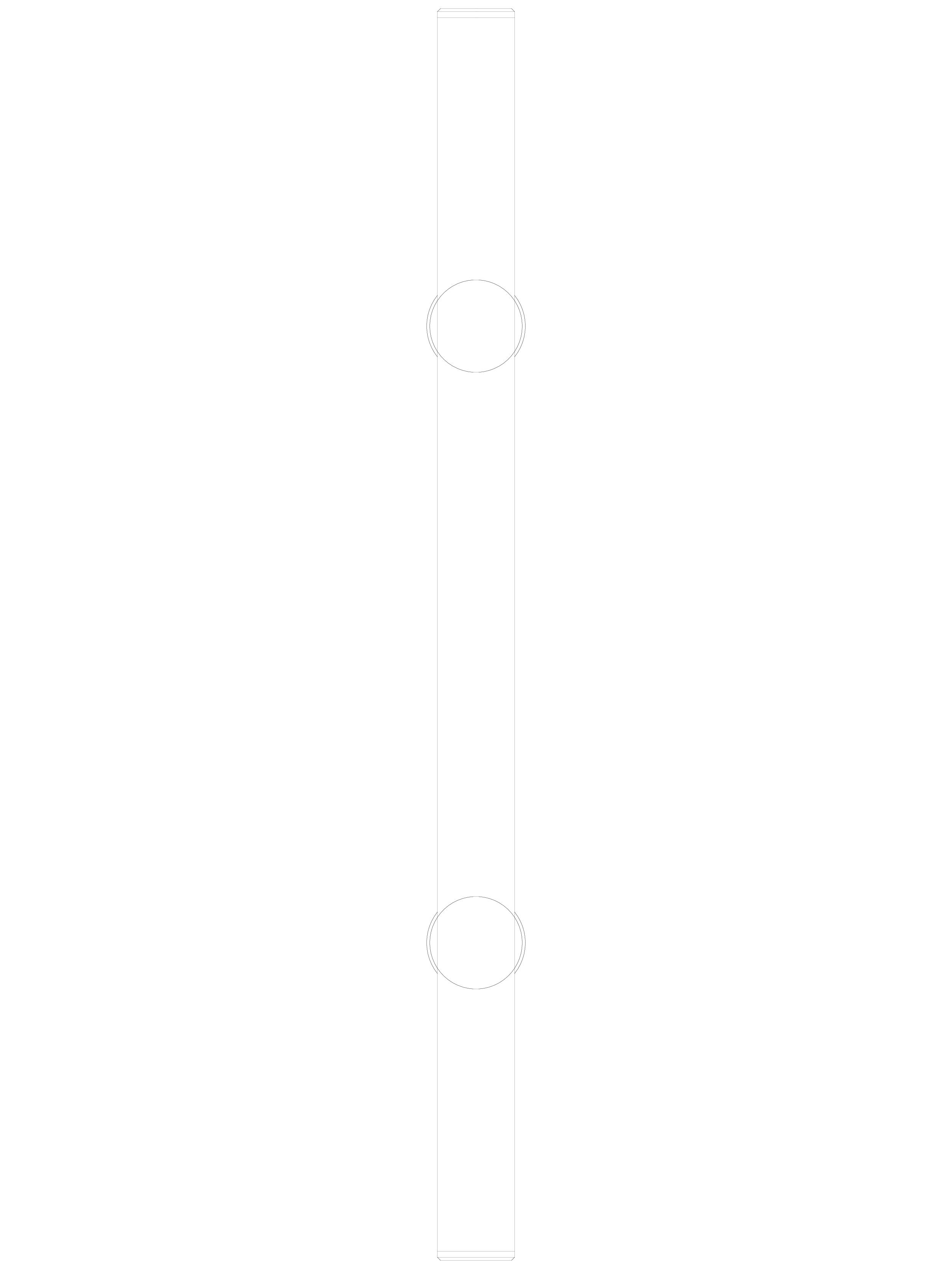 Pagina 1 - CAD-DWG Maner pentru usi din sticla - 04-40-40-40 F SADEV DECOR Detaliu de produs...