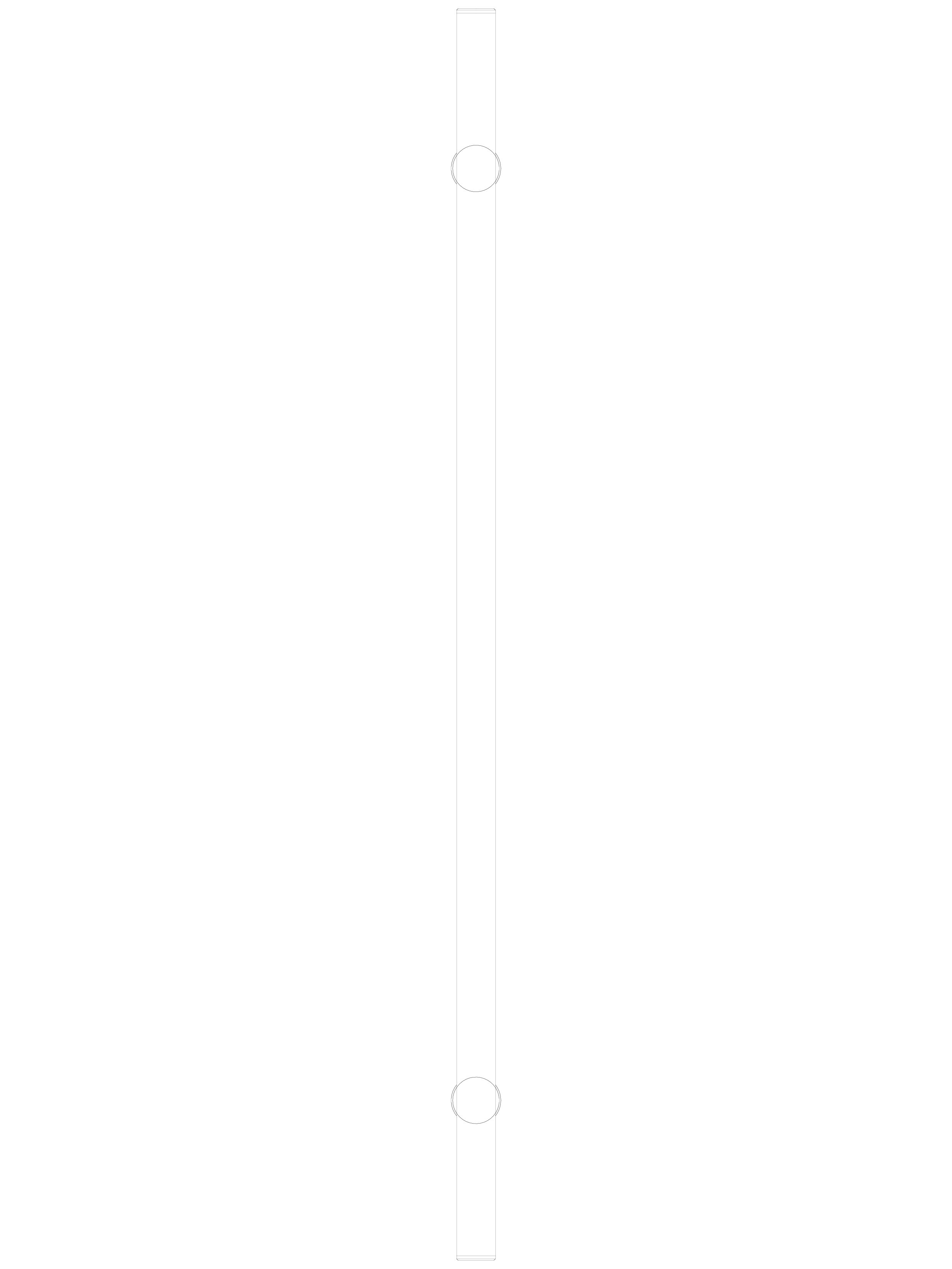 Pagina 1 - CAD-DWG Maner pentru usi din sticla - 04-40-41-40 F SADEV DECOR Detaliu de produs...