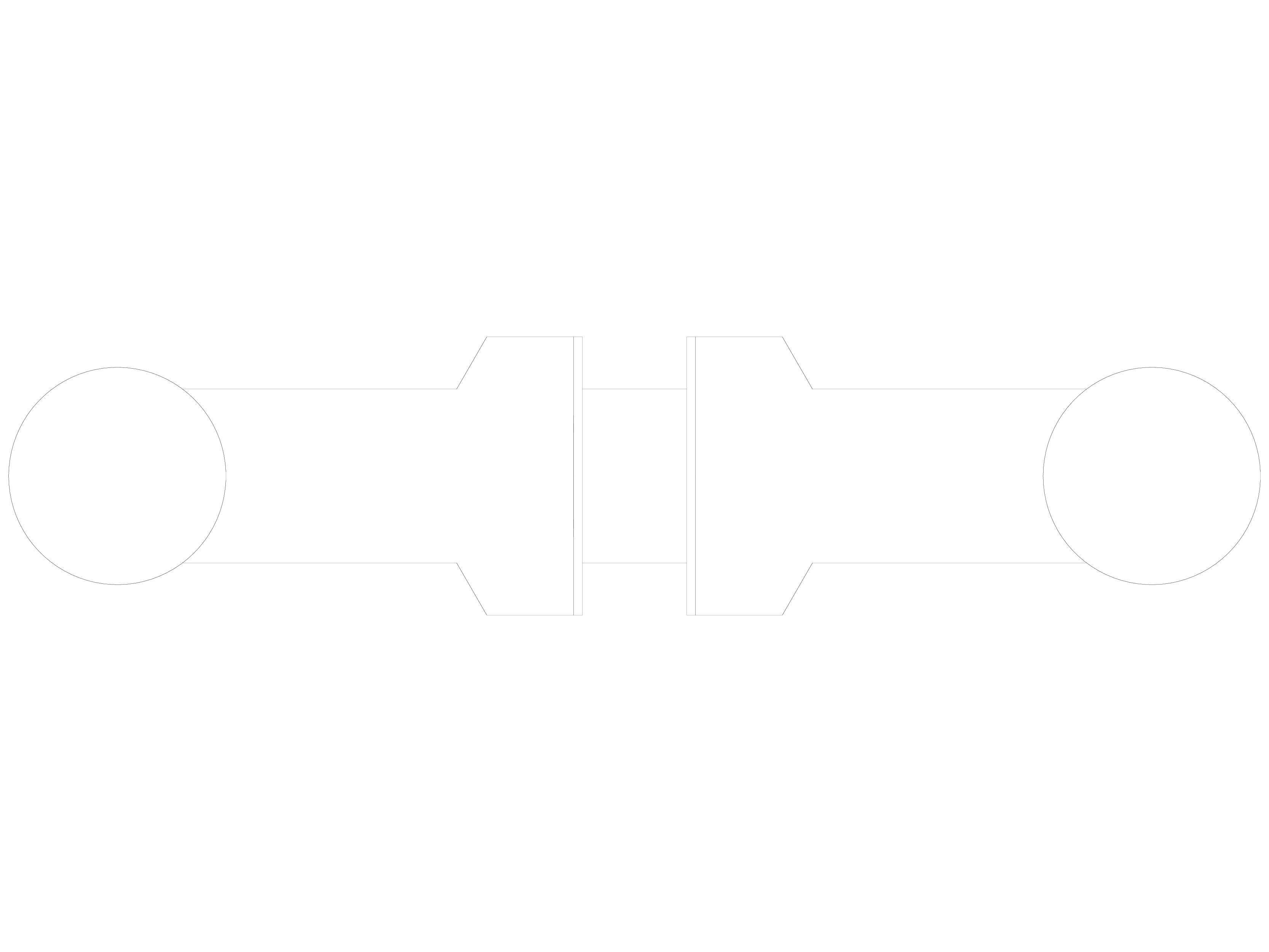 Pagina 1 - CAD-DWG Maner pentru usi din sticla - 04-40 D SADEV DECOR Detaliu de produs Conectori