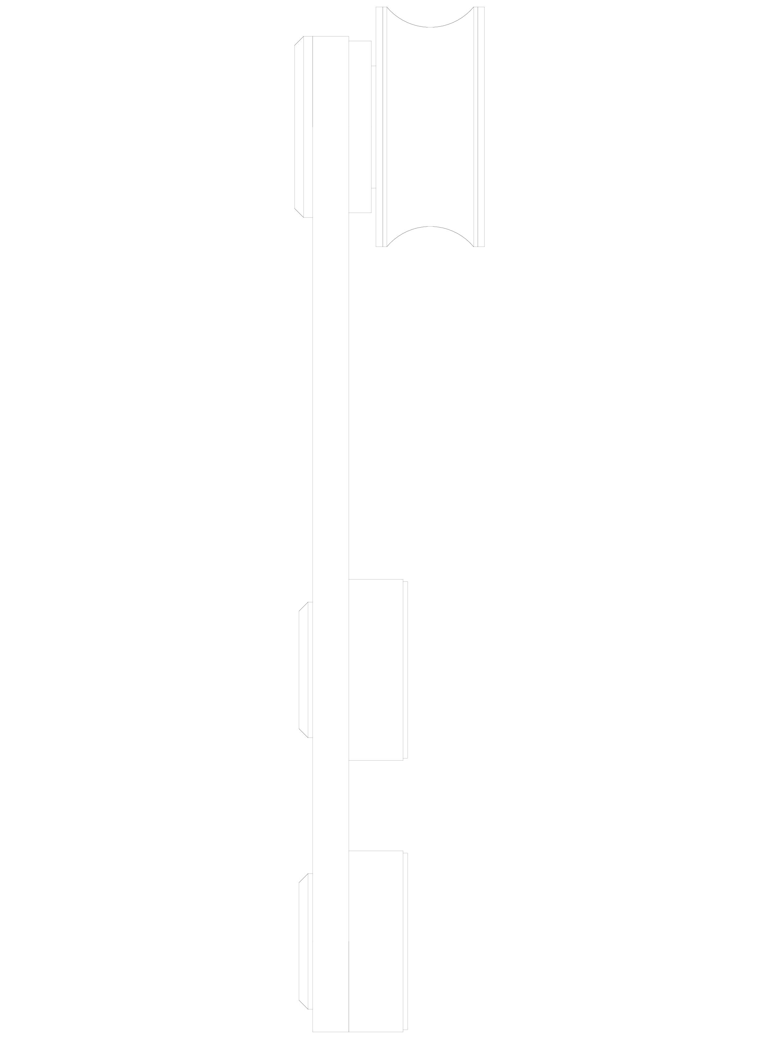 Pagina 1 - CAD-DWG Sistem de fixare usi glisante din sticla - 05-50-51-50 C SADEV DECOR Detaliu de...