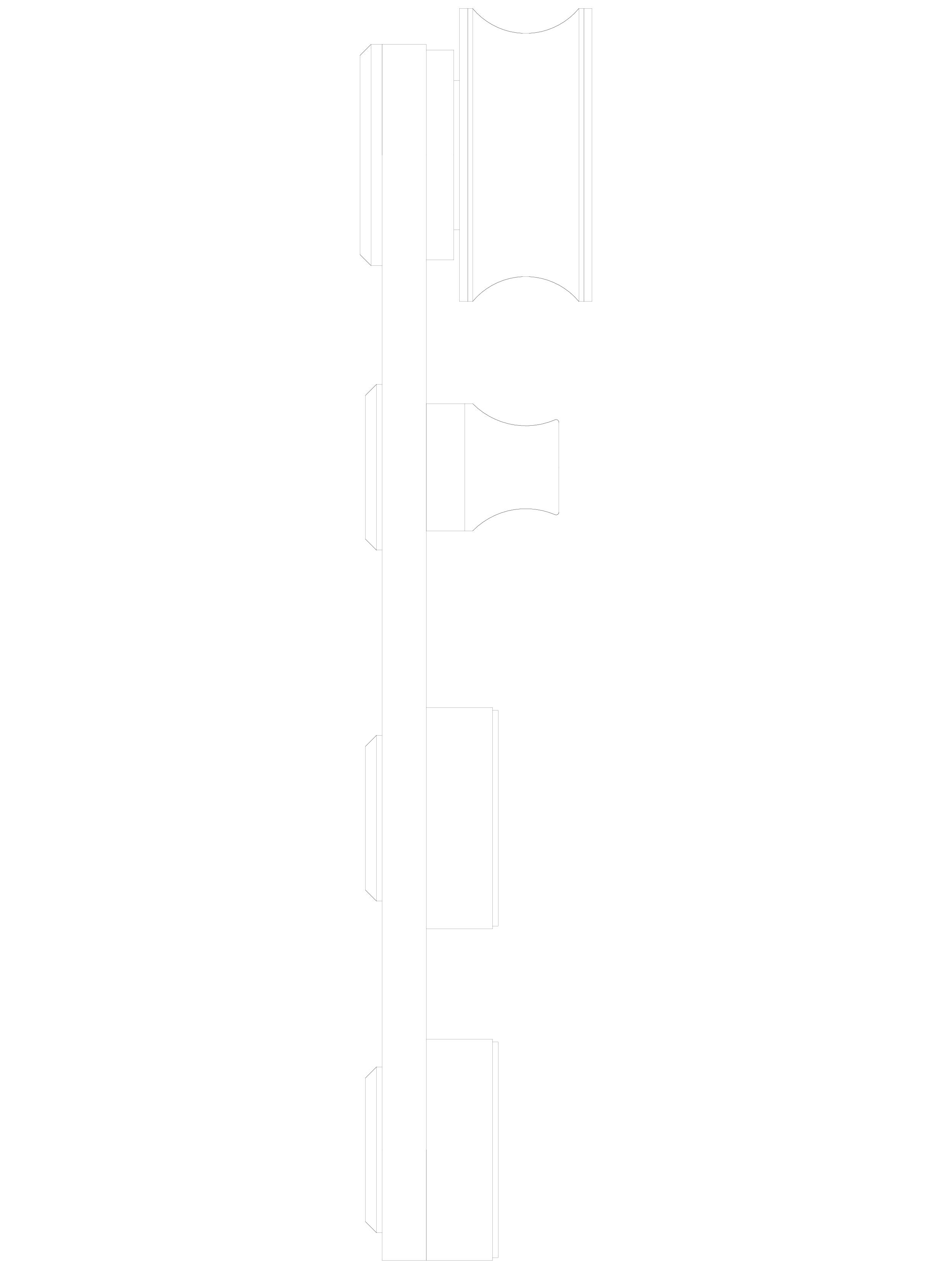 Pagina 1 - CAD-DWG Sistem de fixare usi glisante din sticla - 05-51-51-50 C SADEV DECOR Detaliu de...
