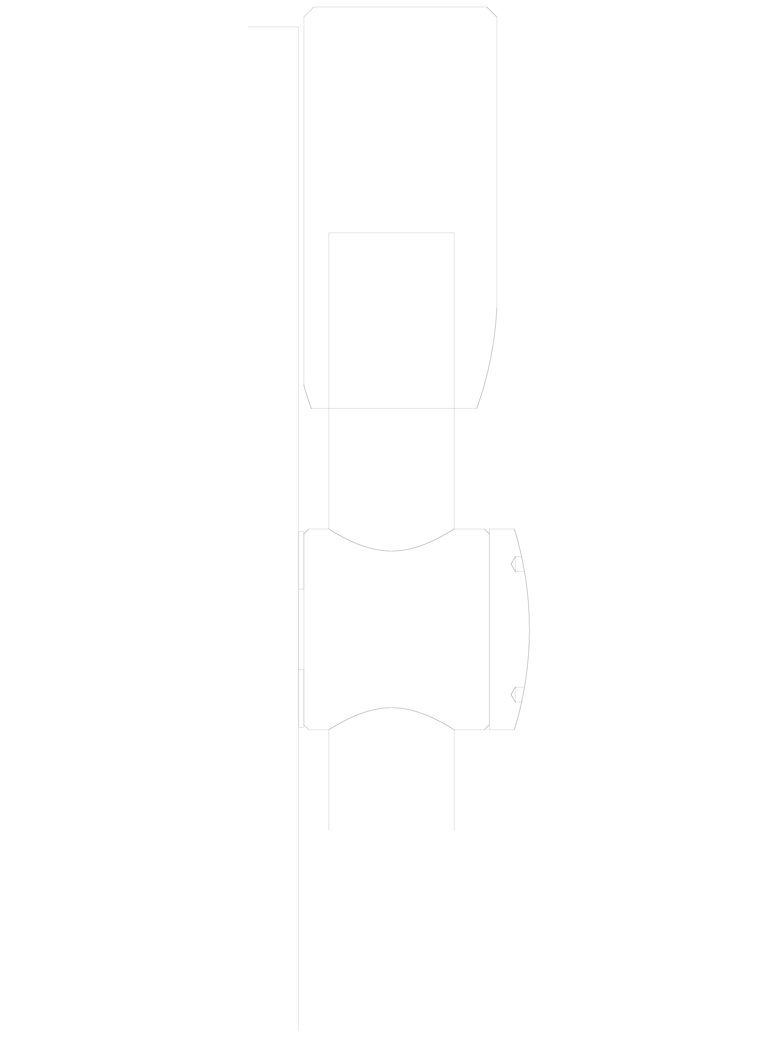 Pagina 1 - CAD-DWG Sistem de fixare usi pivotante din sticla - 03-30-30-30 C SADEV DECOR Detaliu de ...