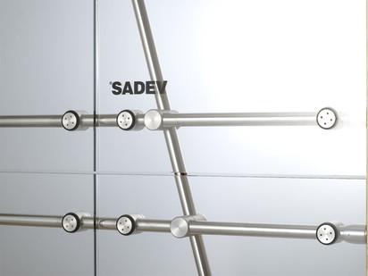 Conector pentru pereti de sticla sadev062 Conectori Conectoare pentru pereti de sticla