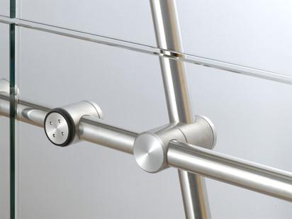 Conector pentru pereti de sticla sadev066 Conectori Conectoare pentru pereti de sticla