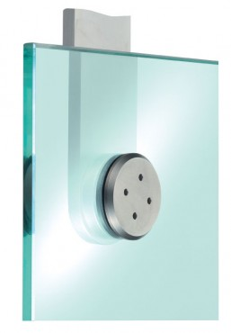 Prezentare produs Sisteme de fixare pentru pereti de sticla SADEV DECOR - Poza 1