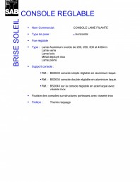 Sisteme de brissoleil-uri