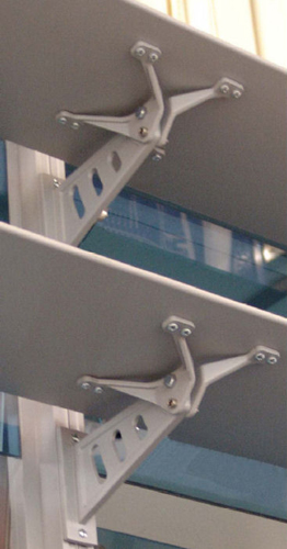 Sistem brissoleil Console - detaliu CONSOLE Sisteme de brissoleil-uri