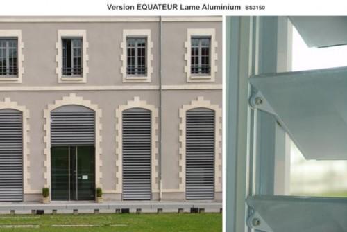 Exemple de utilizare Sisteme de brissoleil-uri din Aluminiu SAB - Poza 2