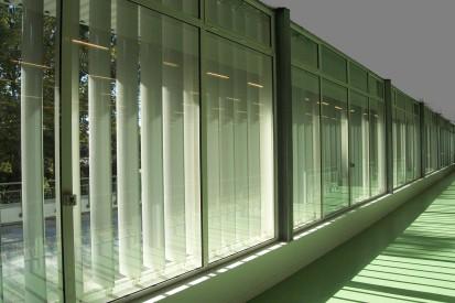 Sistem brissoleil EQUINOXE - lamele dispuse vertical EQUINOXE Sisteme de brissoleil-uri