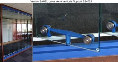 Sistem brissoleil Sahel - Detaliu SAHEL Sisteme de brissoleil-uri