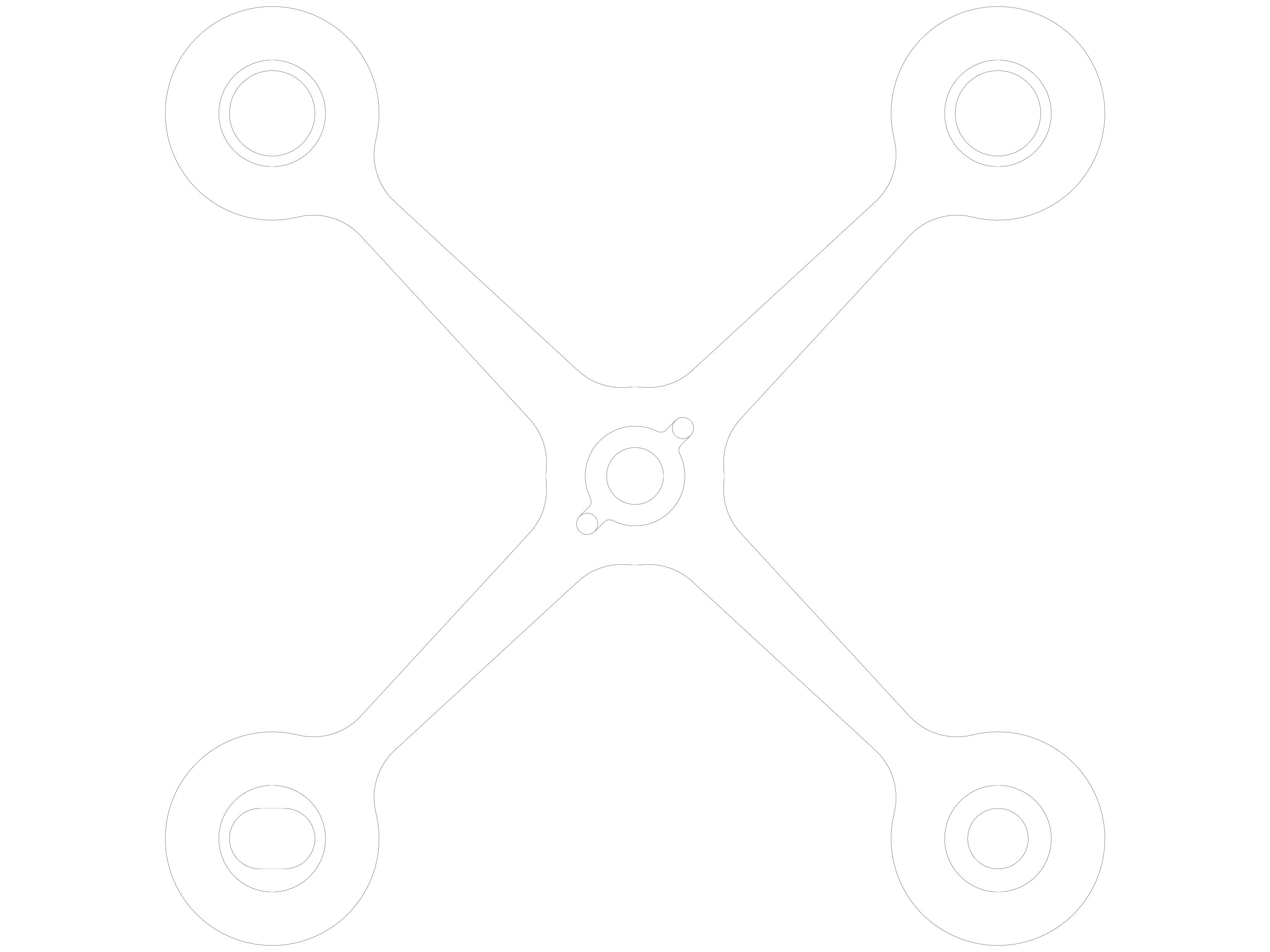 Pagina 1 - CAD-DWG Sisteme spider pentru fatade si copertine SADEV CLASSIC Detaliu de produs S 3002