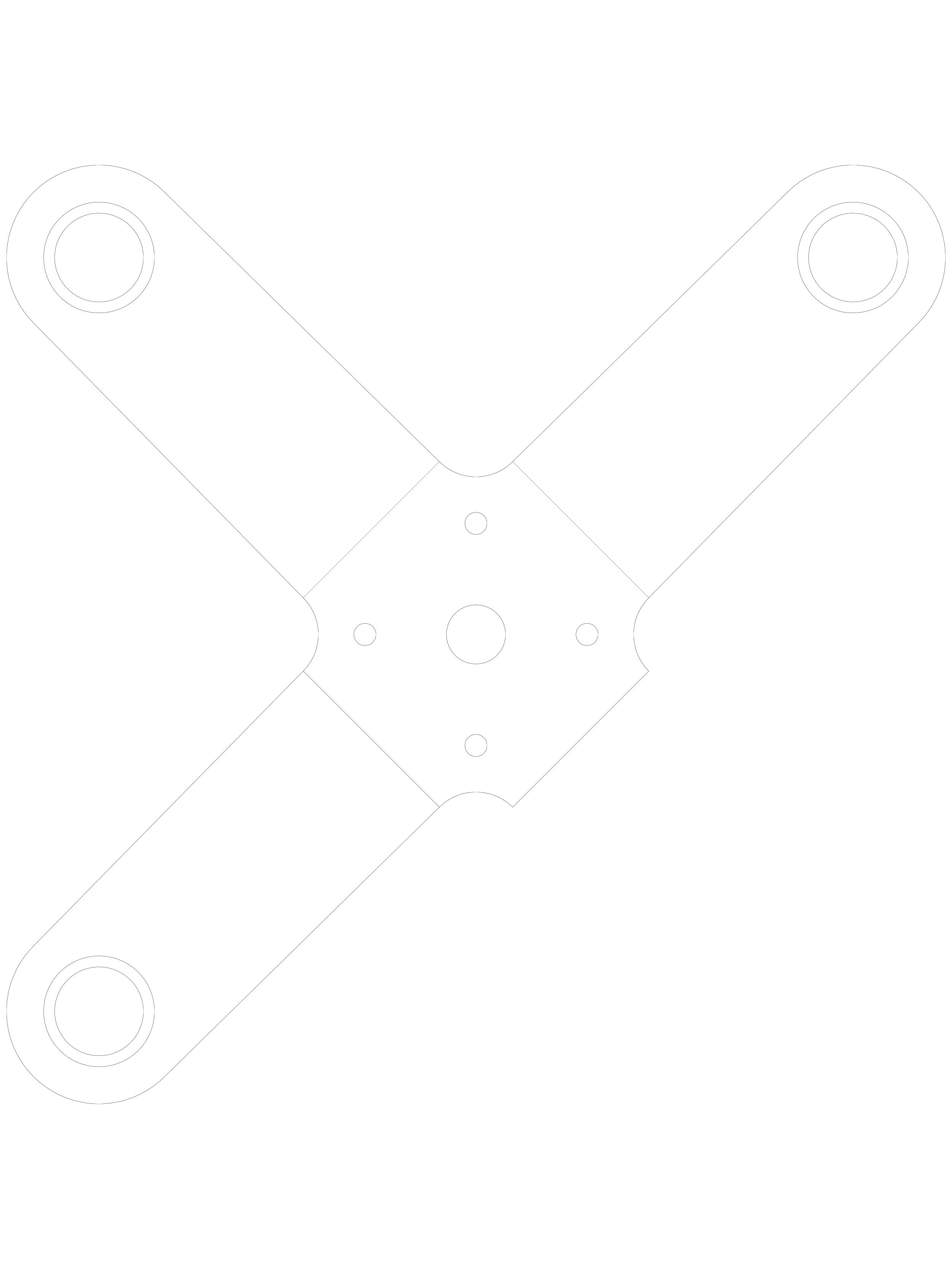 Pagina 1 - CAD-DWG Spider pentru fatade SADEV CLASSIC Detaliu de produs S 3003