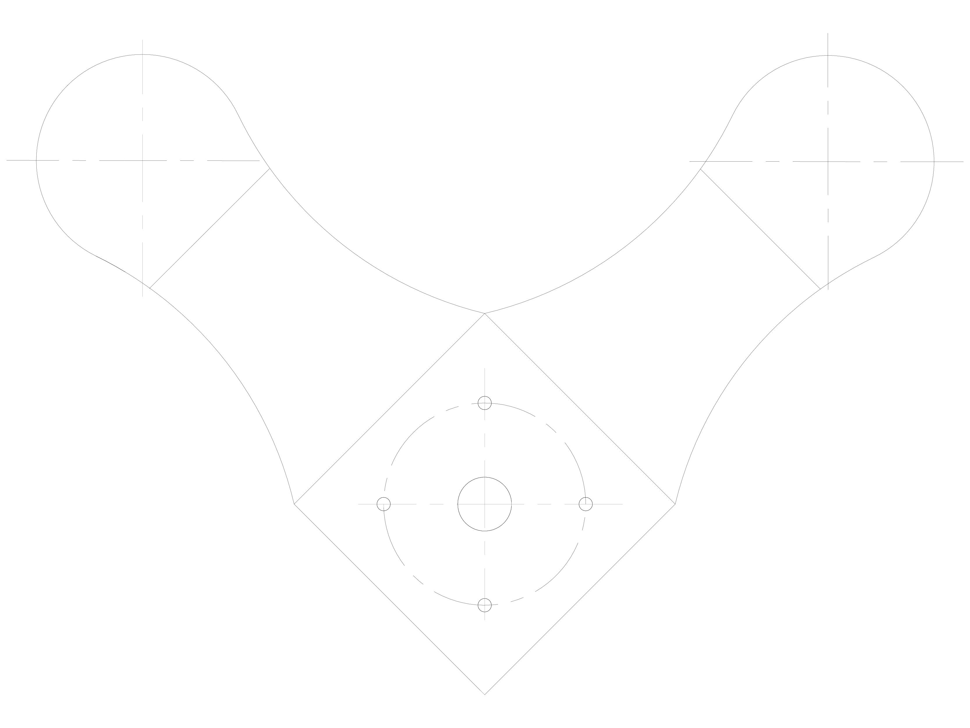 Pagina 1 - CAD-DWG Sisteme spider pentru fatade si copertine SADEV CLASSIC Detaliu de produs S 3004
