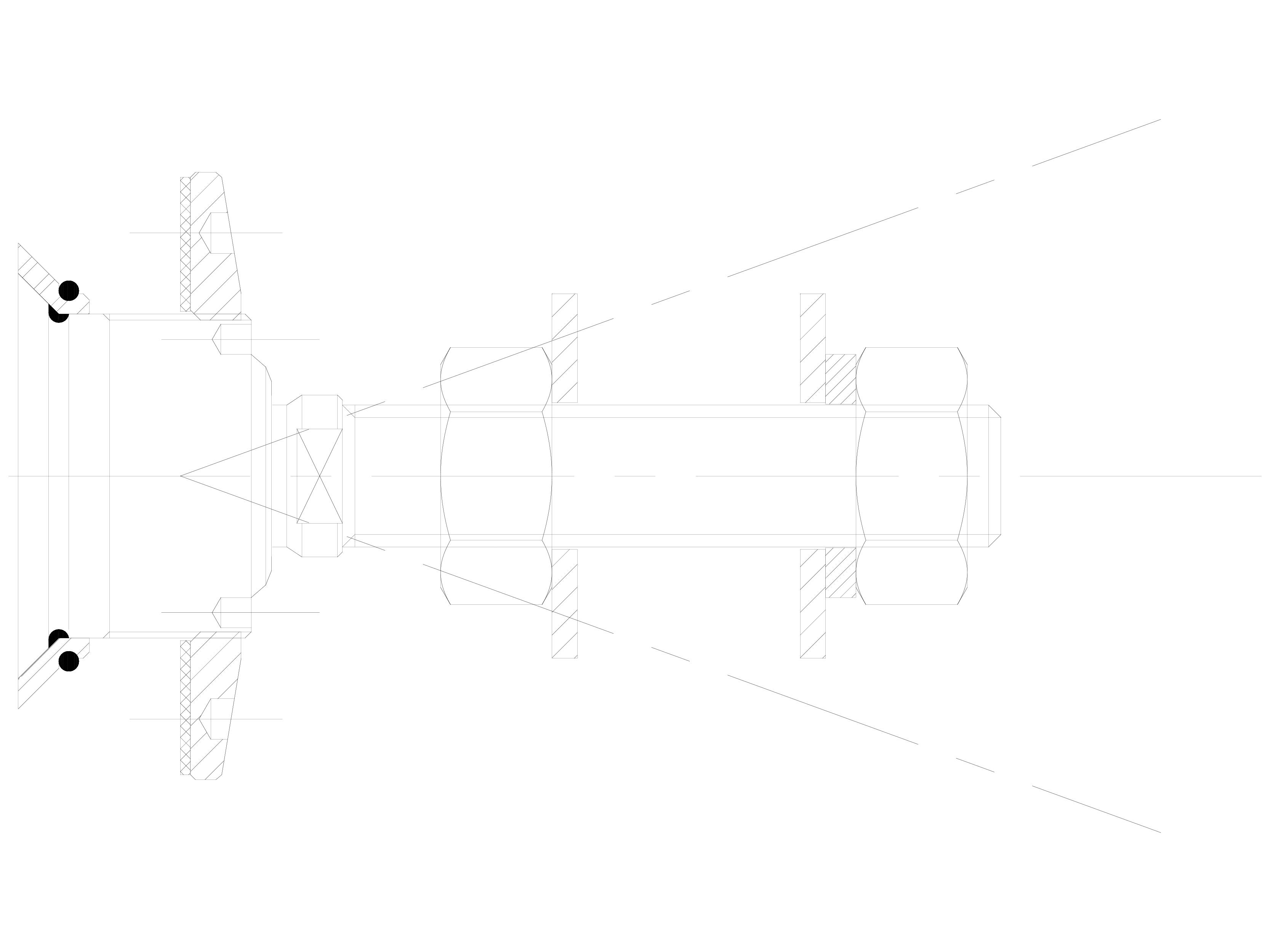 Pagina 1 - CAD-DWG Bolturi cu rotula pentru sisteme spider SADEV CLASSIC Detaliu de produs R 1001