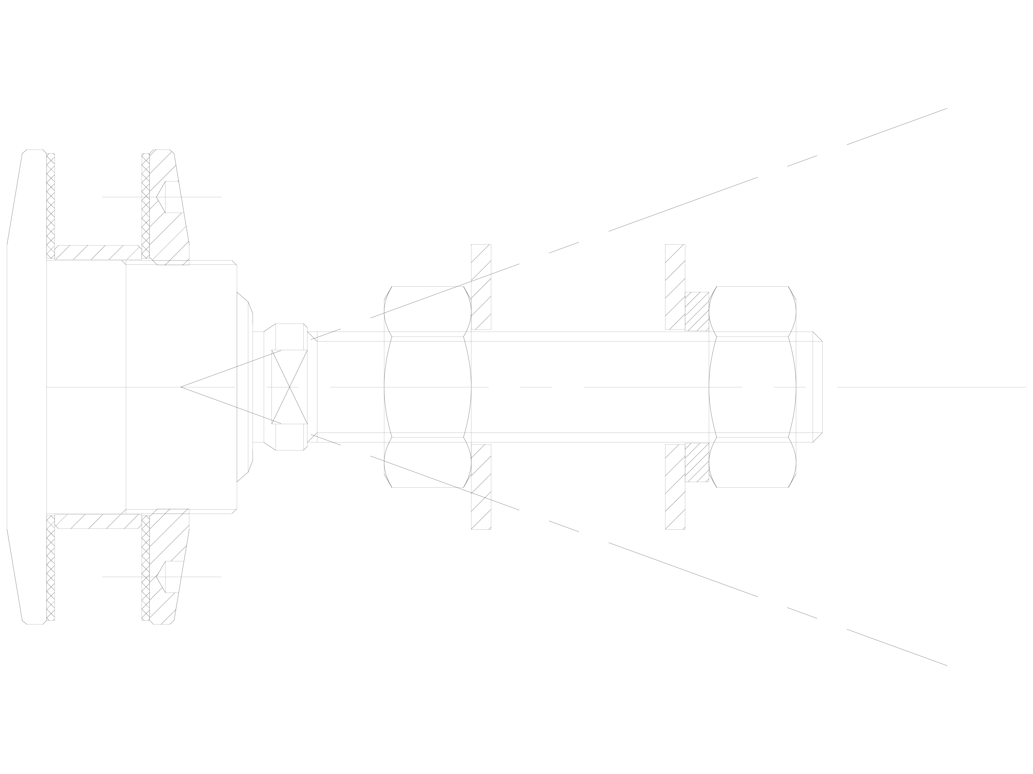 Pagina 1 - CAD-DWG Bolturi cu rotula pentru sisteme spider SADEV CLASSIC Detaliu de produs R 1003