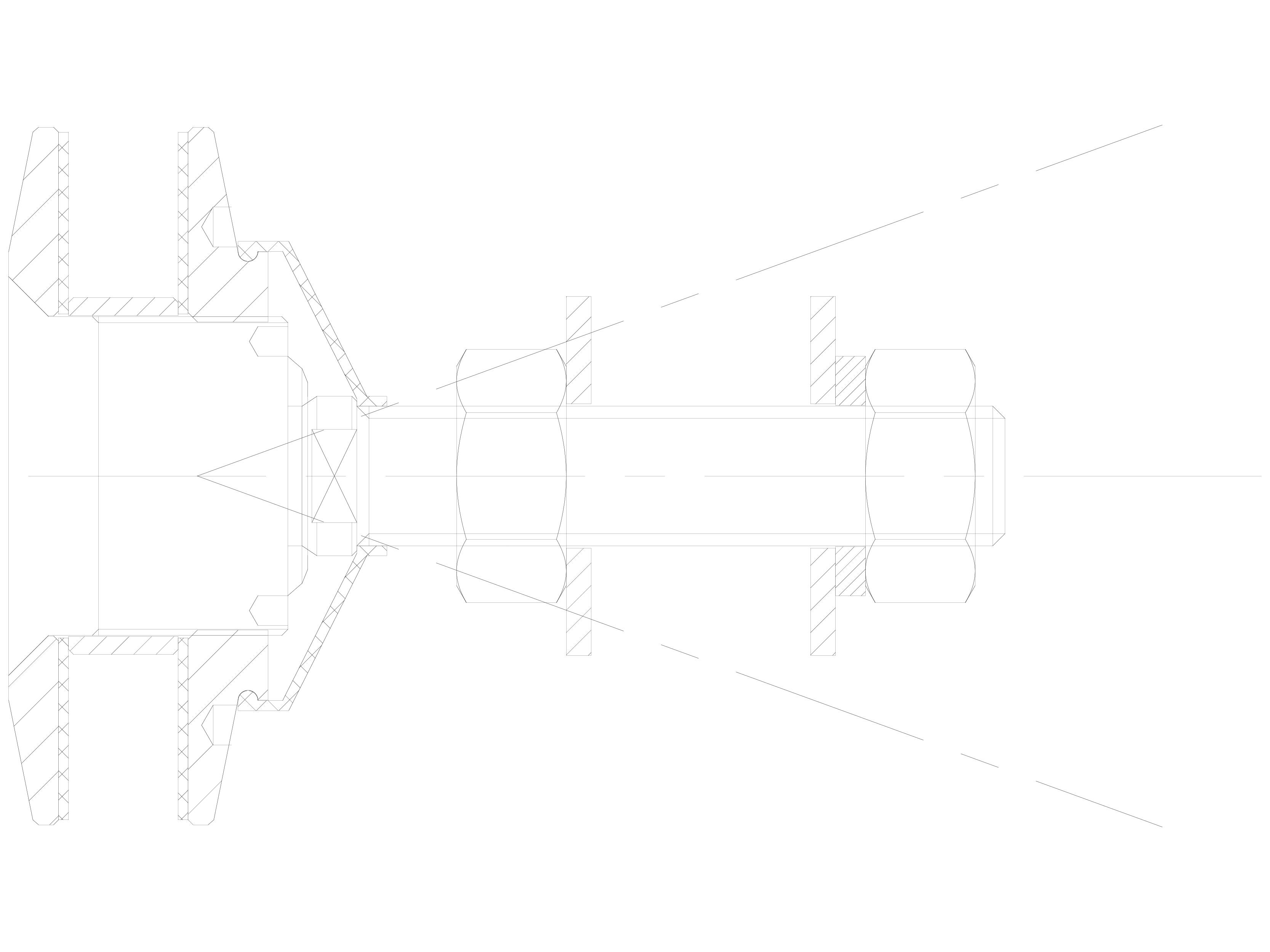 Pagina 1 - CAD-DWG Bolturi cu rotula pentru sisteme spider SADEV CLASSIC Detaliu de produs R 1005