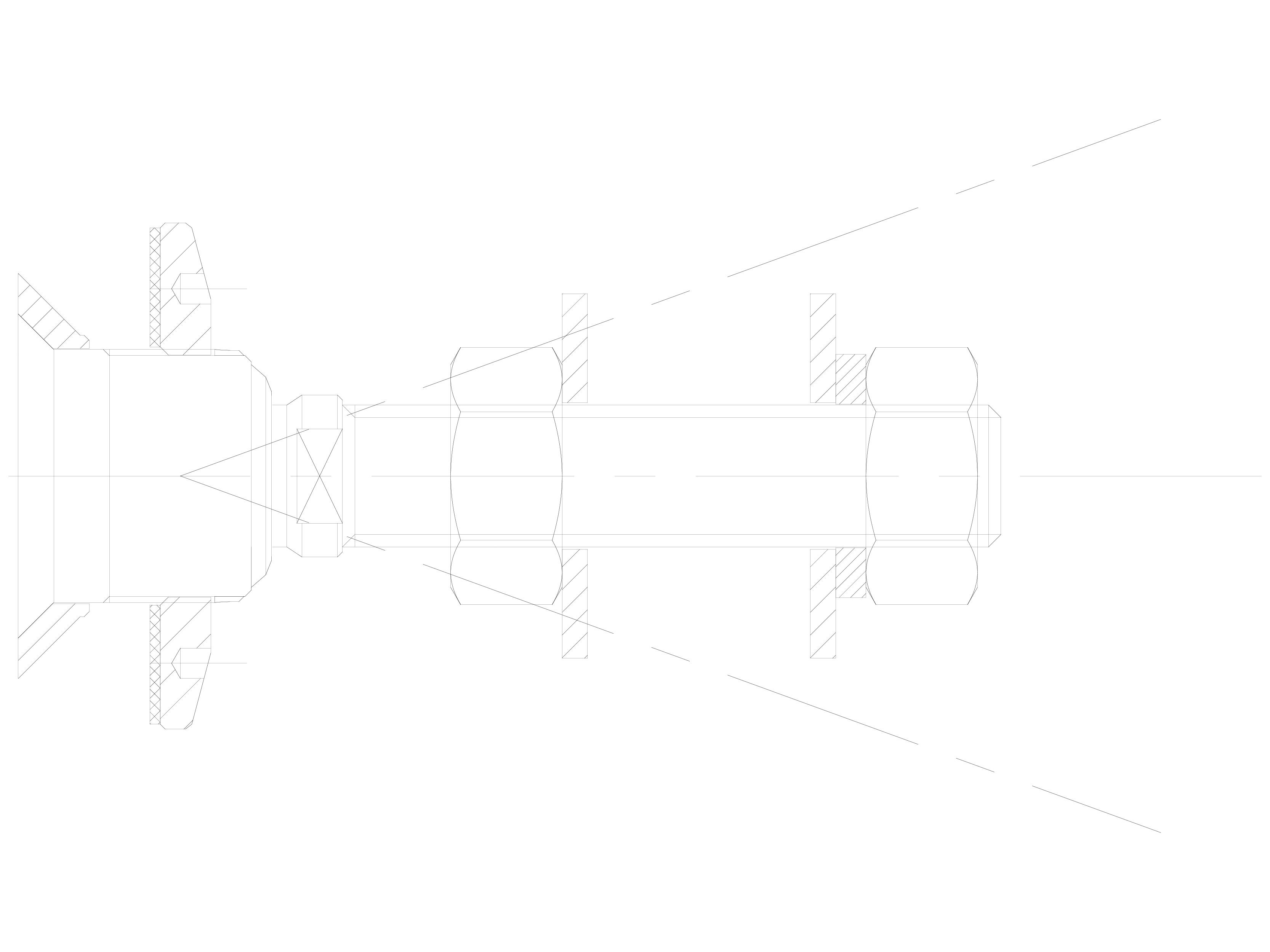 Pagina 1 - CAD-DWG Bolturi cu rotula pentru sisteme spider SADEV CLASSIC Detaliu de produs R 1101