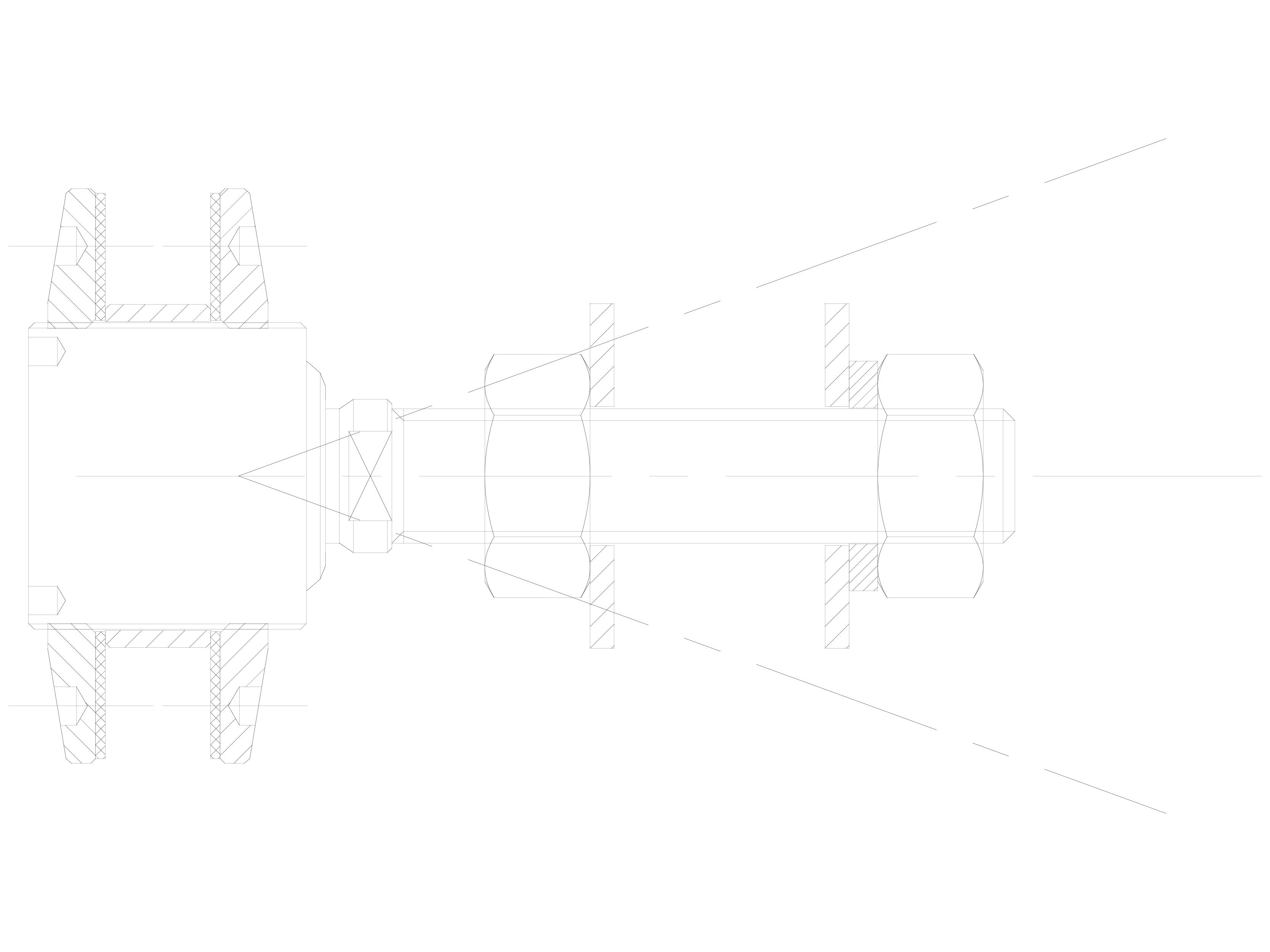 Pagina 1 - CAD-DWG Bolturi cu rotula pentru sisteme spider SADEV CLASSIC Detaliu de produs R 1006