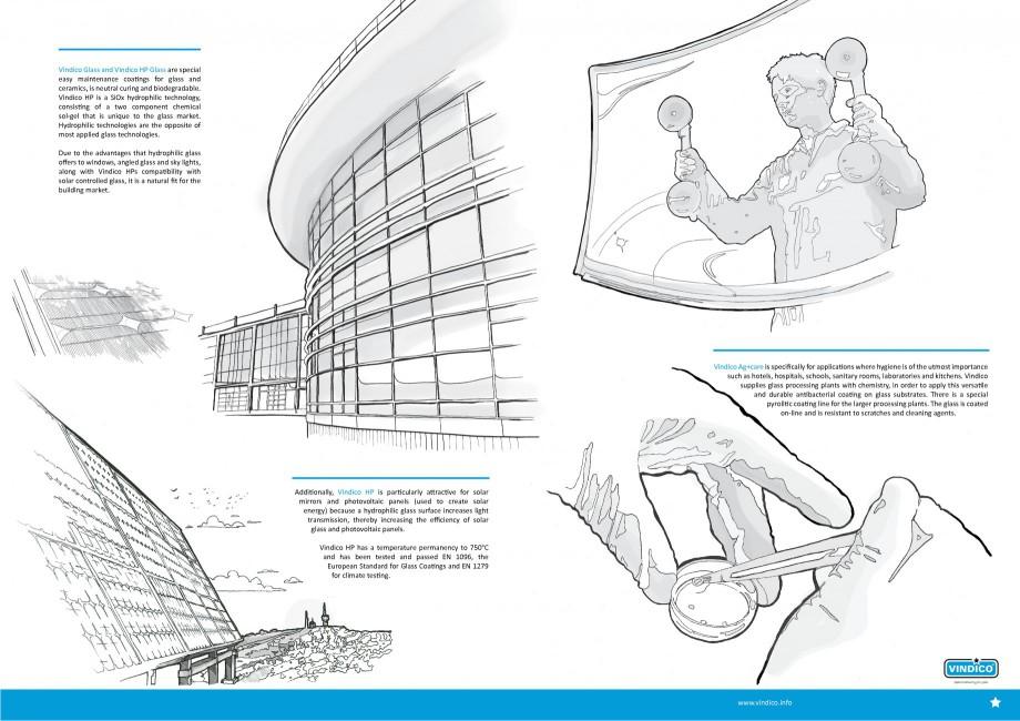 Pagina 2 - Tratamente pentru sticla VINDICO Catalog, brosura Engleza mpatibility with solar...