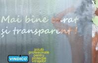 Tratamente speciale pentru suprafete din sticla VINDICO