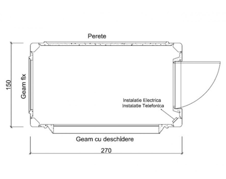 Pagina 1 - Cabine prefabricate NEW DESIGN COMPOSITE 1527 Fisa tehnica Romana