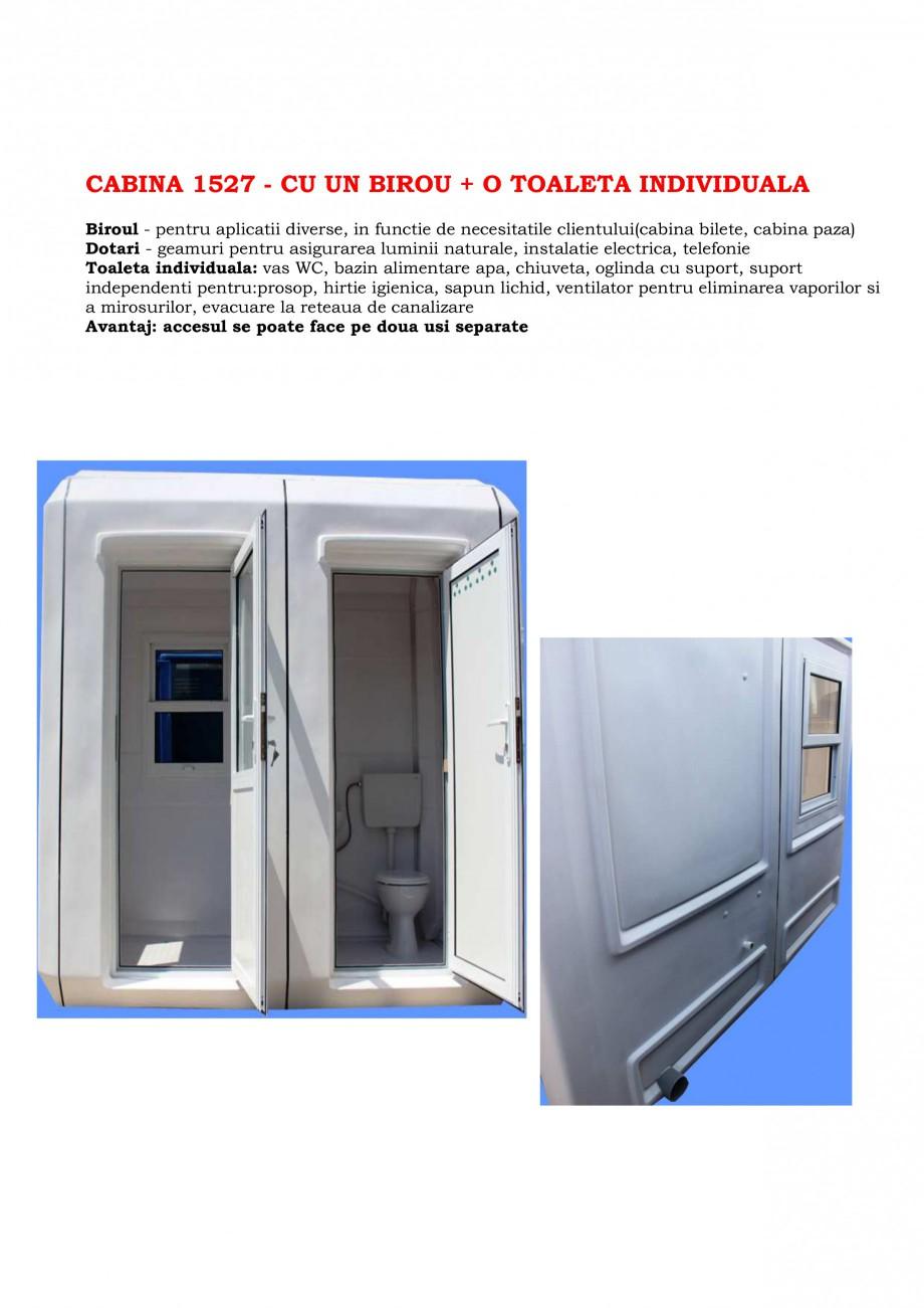 Pagina 5 - Cabine prefabricate si toalete ecologice NEW DESIGN COMPOSITE 2751, 1515, 1522, 1527,...