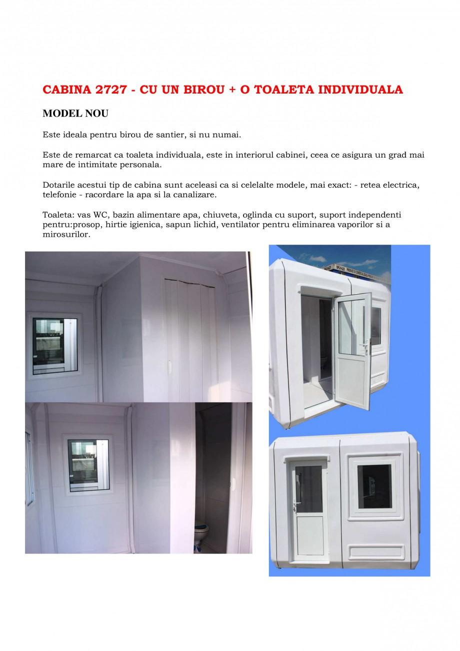 Pagina 7 - Cabine prefabricate si toalete ecologice NEW DESIGN COMPOSITE 2751, 1515, 1522, 1527,...