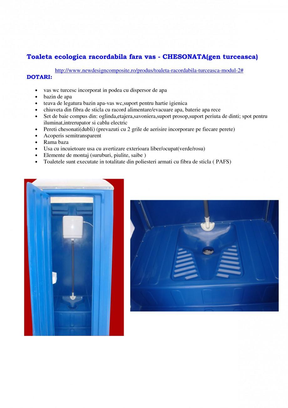 Pagina 10 - Cabine prefabricate si toalete ecologice NEW DESIGN COMPOSITE 2751, 1515, 1522, 1527,...