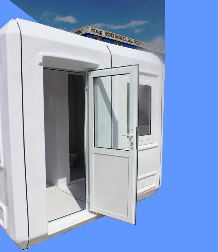 Cabine cu toaleta individuala NEW DESIGN COMPOSITE - Poza 17