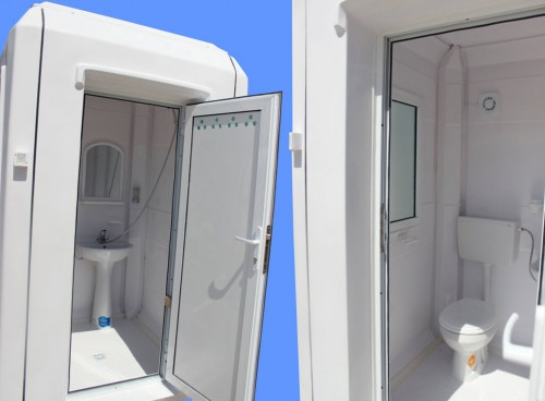 Prezentare produs Cabine cu toaleta individuala NEW DESIGN COMPOSITE - Poza 2