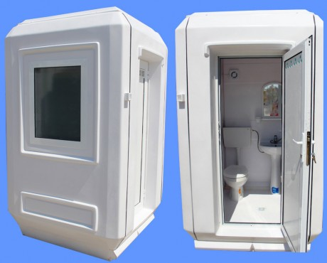 Prezentare produs Cabine cu toaleta individuala NEW DESIGN COMPOSITE - Poza 3