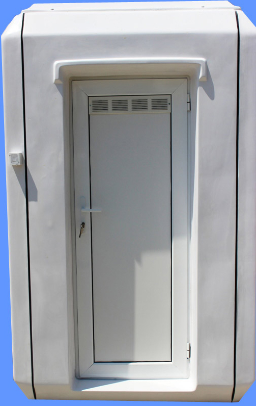 Cabine cu toaleta individuala NEW DESIGN COMPOSITE - Poza 4