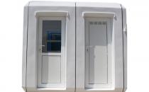 Cabine prefabricate Folosind o cabina sau o configuratie din mai multe module New Design Composite, se pot realiza constructii sezonale sau permanente.