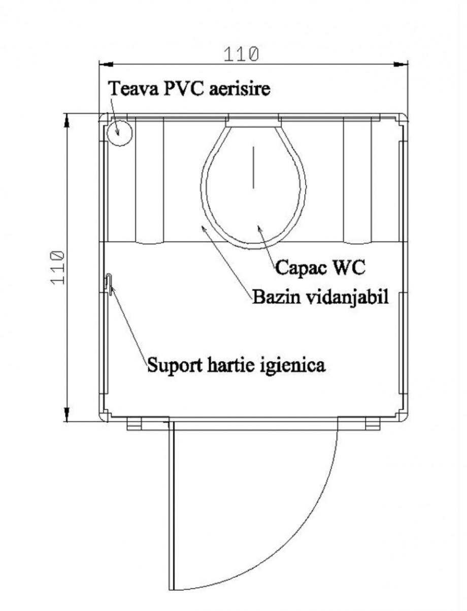 Pagina 1 - Toaleta ecologica vidanjabila chesonata NEW DESIGN COMPOSITE Fisa tehnica Romana