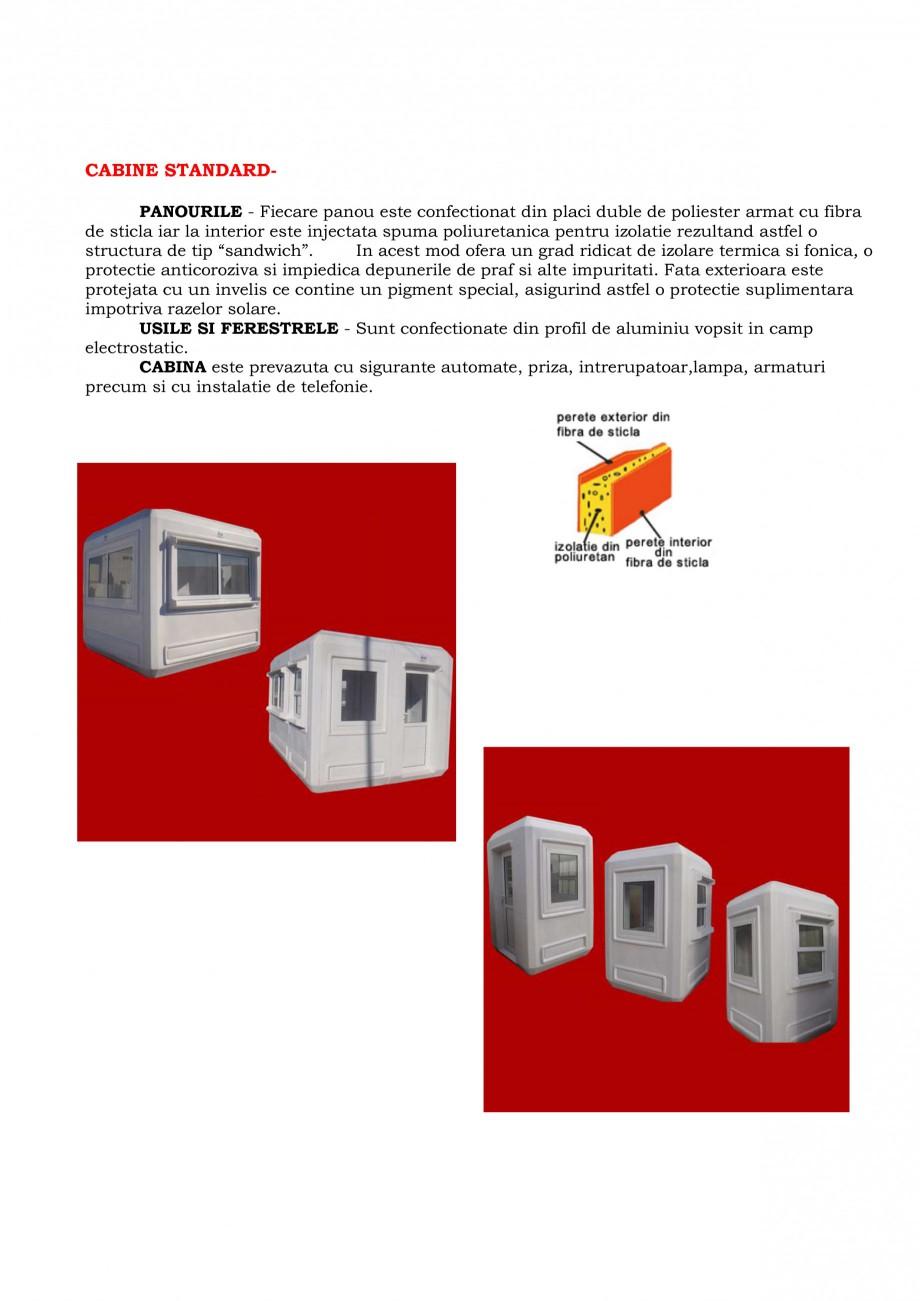 Pagina 2 - Toalete ecologice si cabine prefabricate NEW DESIGN COMPOSITE Catalog, brosura Romana ...