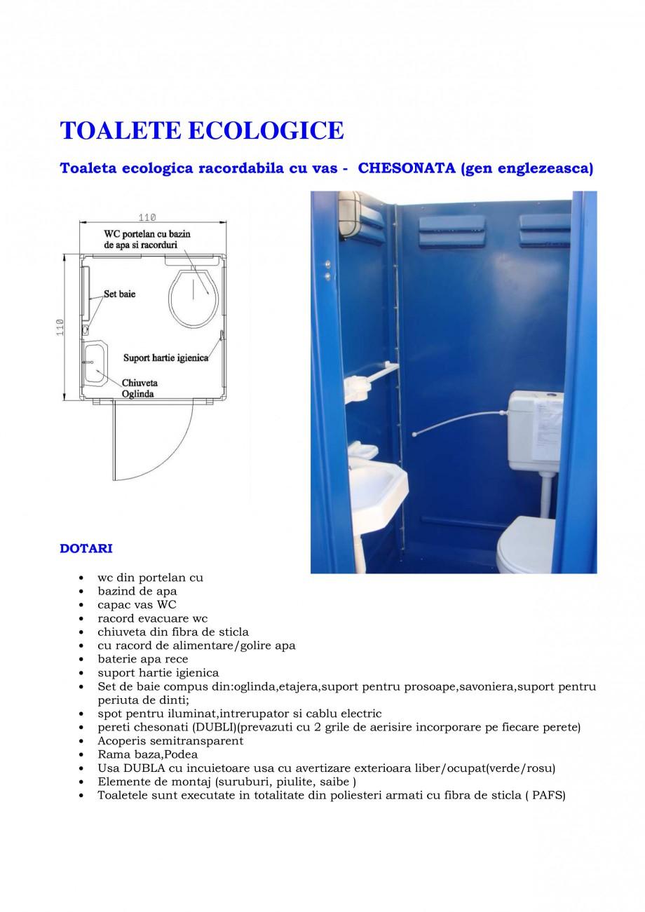 Pagina 8 - Toalete ecologice si cabine prefabricate NEW DESIGN COMPOSITE Catalog, brosura Romana...