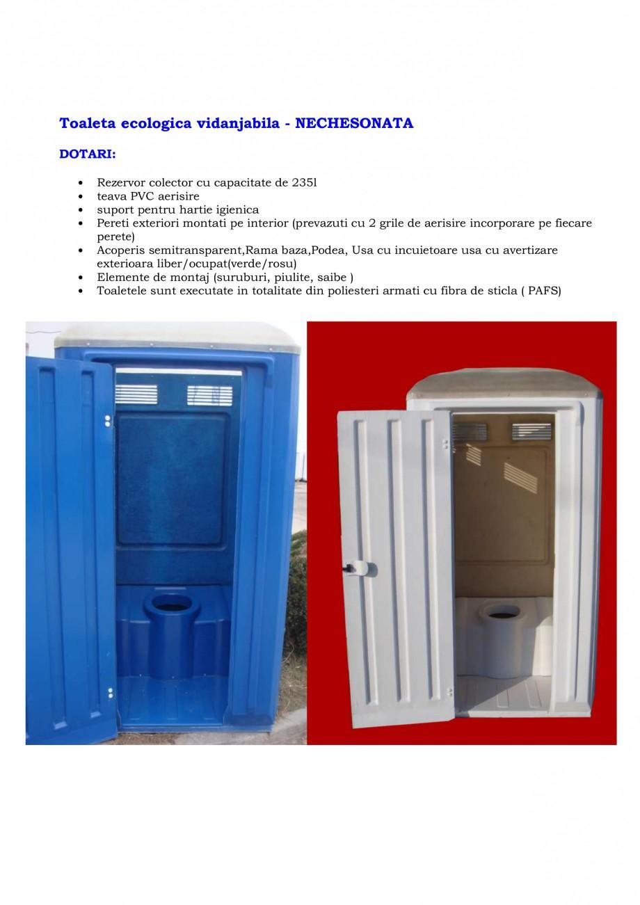 Pagina 12 - Toalete ecologice si cabine prefabricate NEW DESIGN COMPOSITE Catalog, brosura Romana