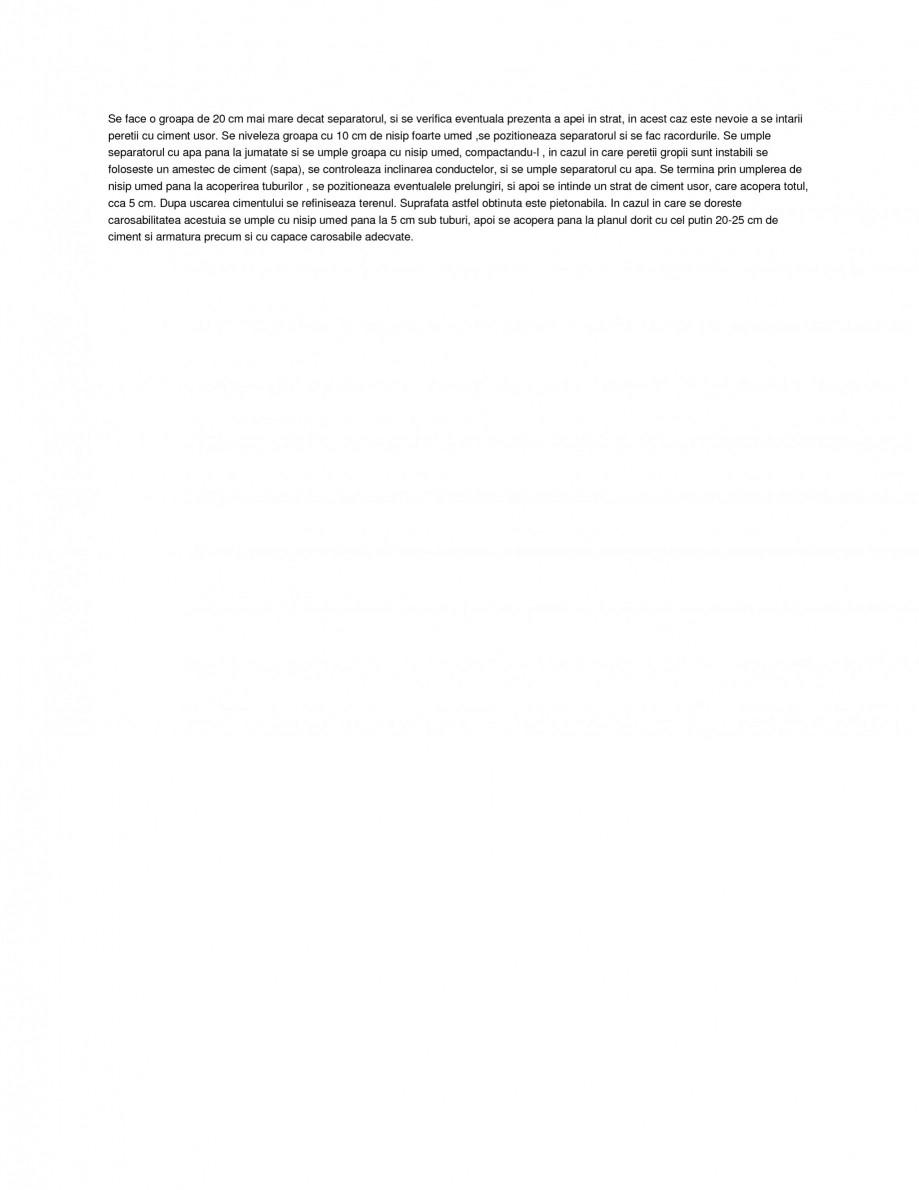 Pagina 2 - Separator de grasimi NEW DESIGN COMPOSITE SUPER STARS DEG Fisa tehnica Romana uzura...